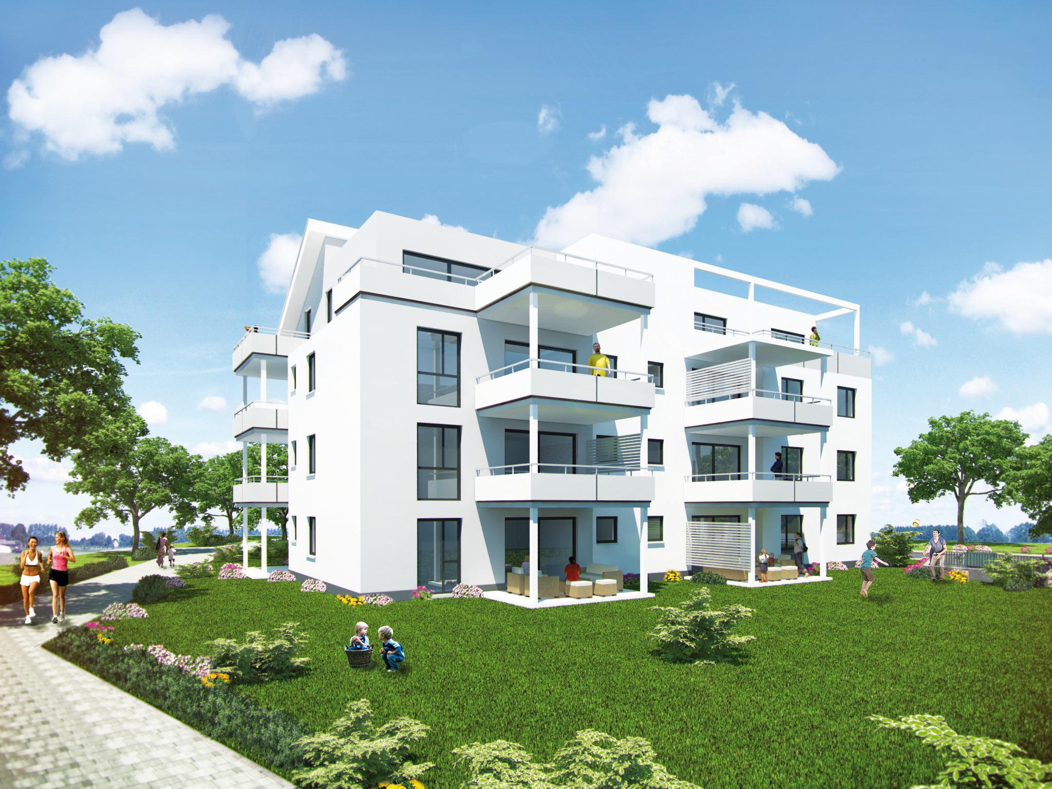 Mehrfamilienhaus Öhringen: Jan Erdmann || Architekt in Mühlhausen ...